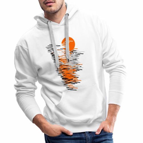 Black And Orange - Men's Premium Hoodie