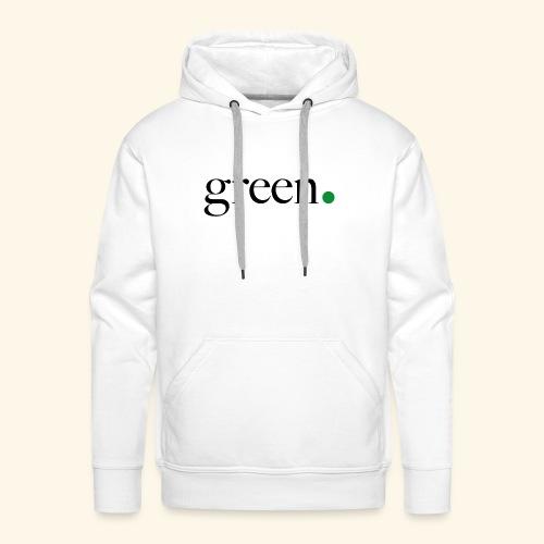 Green - Sweat-shirt à capuche Premium pour hommes