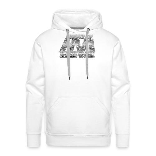 CM Logo aus Text schwarz - Männer Premium Hoodie