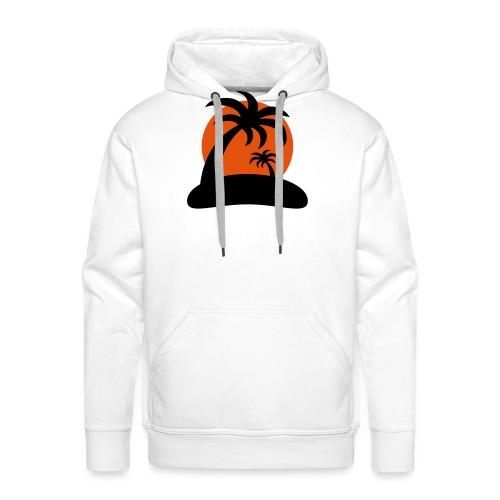 palm island sun - Mannen Premium hoodie