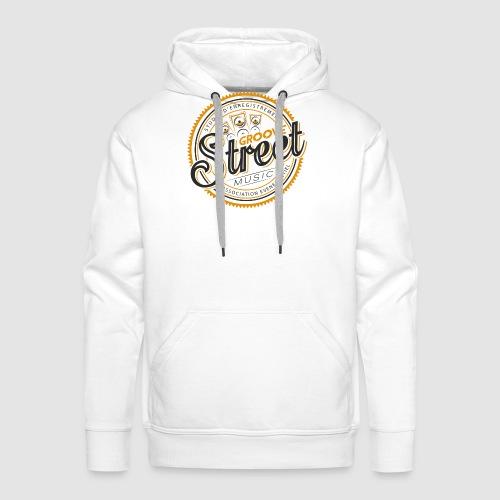 logo tshirt groovestreet png - Sweat-shirt à capuche Premium pour hommes