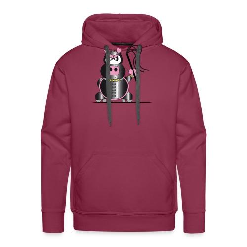 Schweinchen Sado - Männer Premium Hoodie