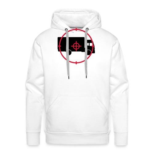 Déménageur / Déménagement / Déménager / Camion - Sweat-shirt à capuche Premium pour hommes