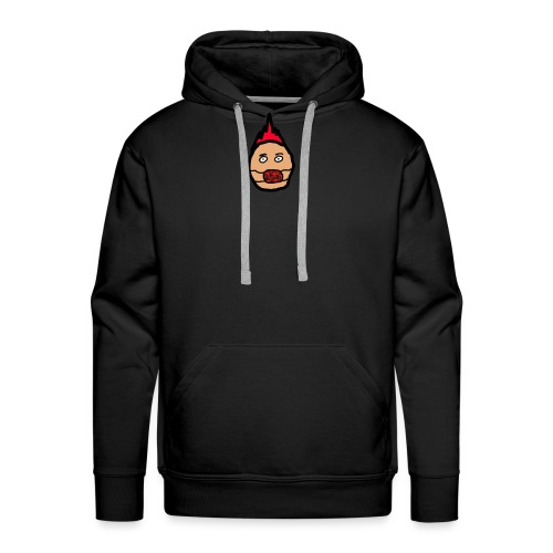 mask head - Mannen Premium hoodie