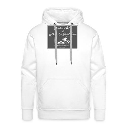 Logo officiel Chambres d'hôtes et Cottages - Sweat-shirt à capuche Premium pour hommes
