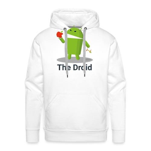 The Droid Spille - Felpa con cappuccio premium da uomo