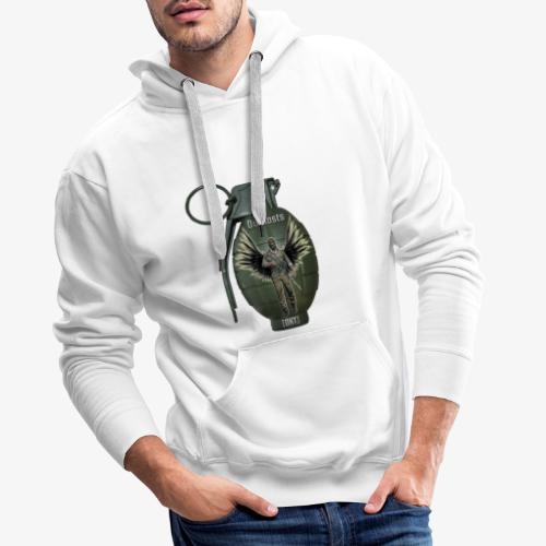 grenadearma3 png - Men's Premium Hoodie
