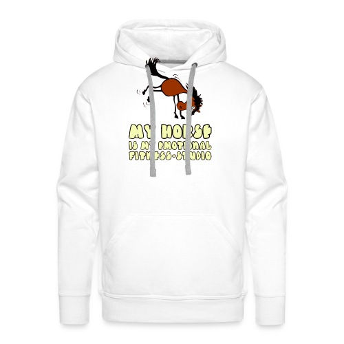 my horse is my emotional Fitness Studio - Männer Premium Hoodie