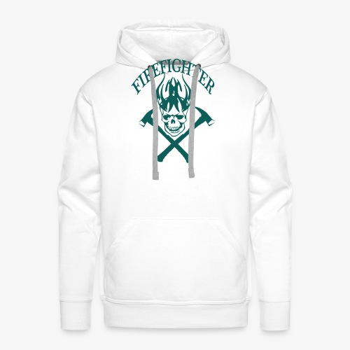 firefighter - Sweat-shirt à capuche Premium pour hommes