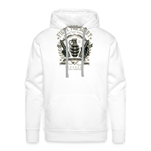Grenade Fight for Glory - Mannen Premium hoodie