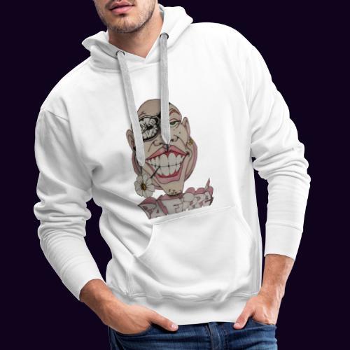 Pa Flippé - Sweat-shirt à capuche Premium pour hommes