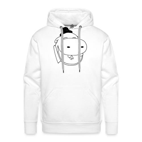 logo potame - Sweat-shirt à capuche Premium pour hommes
