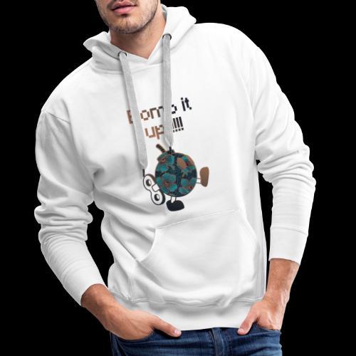 Bomb It Up : Bronze Power !!! - Sweat-shirt à capuche Premium pour hommes