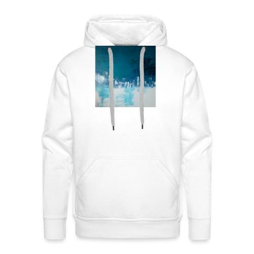 Bleumoi - Sweat-shirt à capuche Premium pour hommes
