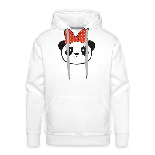 panda no8 - Men's Premium Hoodie