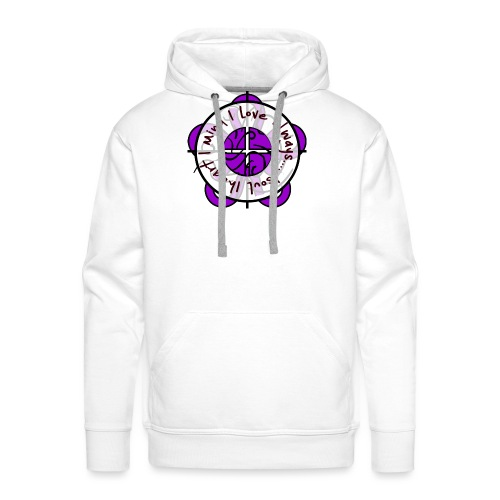 one heart - Men's Premium Hoodie