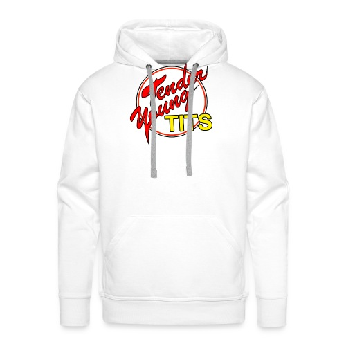 TENDER YOUNG TITS - Men's Premium Hoodie