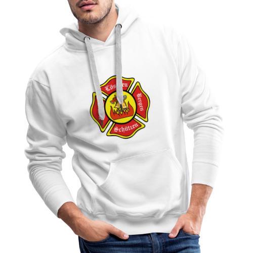 Feuerwehrschild - Männer Premium Hoodie