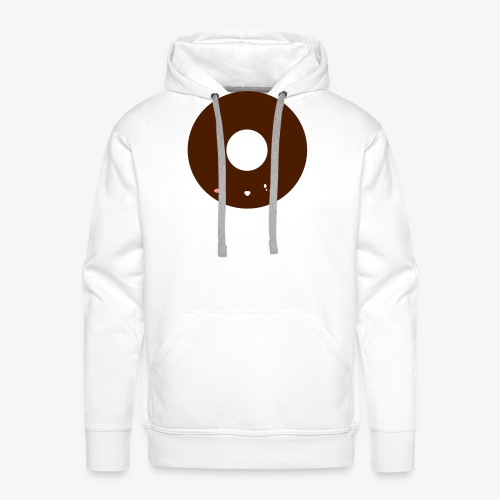 Happy Doughnut All Ages Perfect Gift - Men's Premium Hoodie