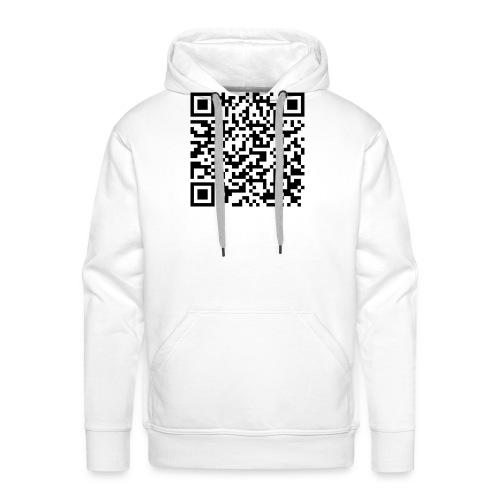 static qr code without logo2 png - Felpa con cappuccio premium da uomo