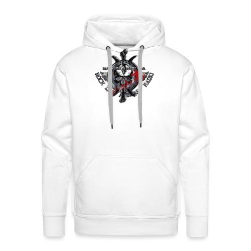 Blood Skull Logo - Premiumluvtröja herr