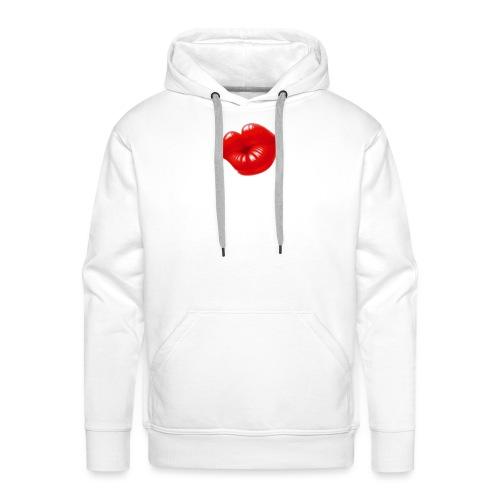 beso - Sudadera con capucha premium para hombre