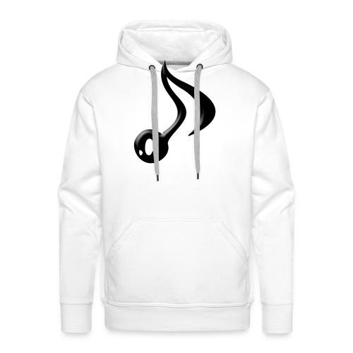 logo adhoc png - Sweat-shirt à capuche Premium pour hommes