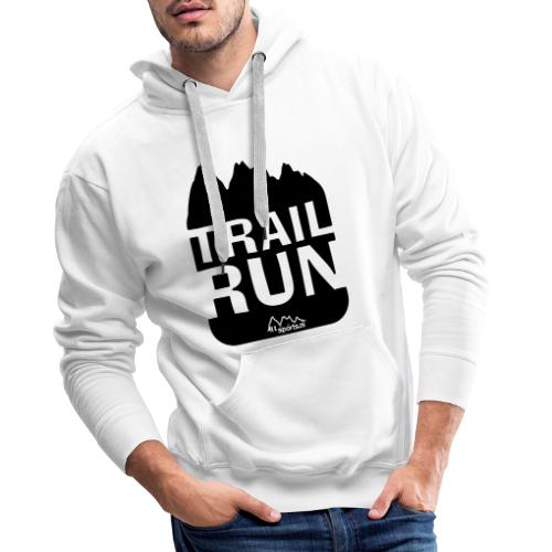 Trail Run - Männer Premium Hoodie