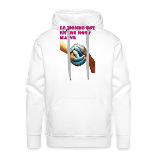 Pueblo unido - Sudadera con capucha premium para hombre