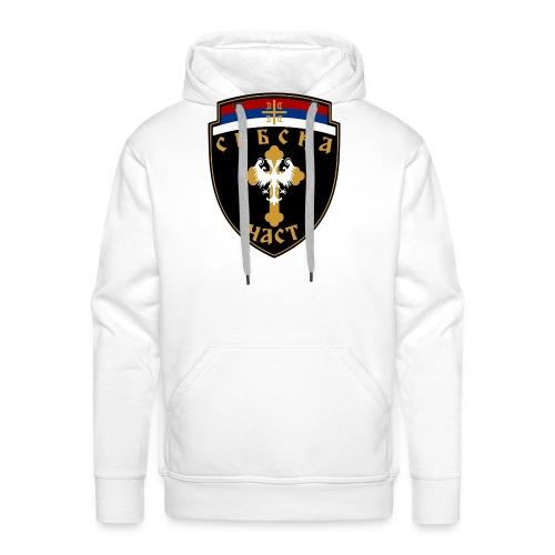 serbisk trøje - Herre Premium hættetrøje