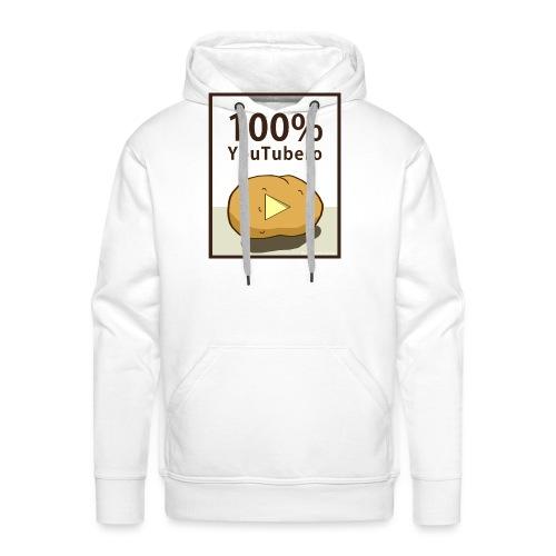 100-_youtubero - Felpa con cappuccio premium da uomo