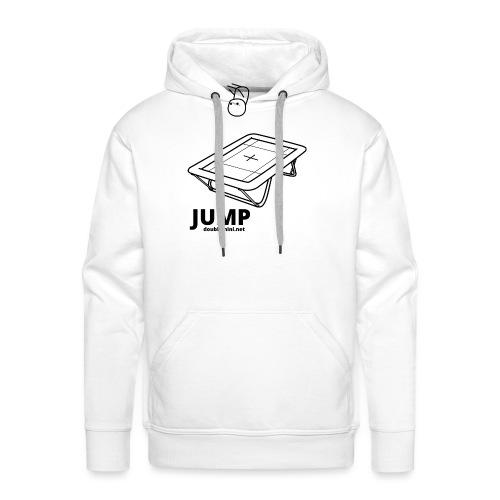 Trampoline JUMP shirt white - Men's Premium Hoodie