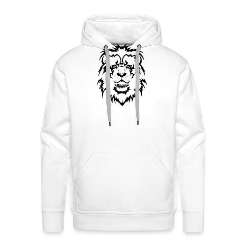 Karavaan Lion Black - Mannen Premium hoodie
