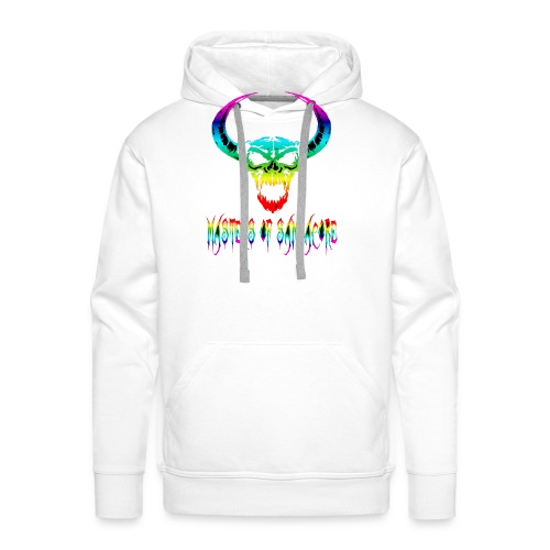 mos2 png - Mannen Premium hoodie
