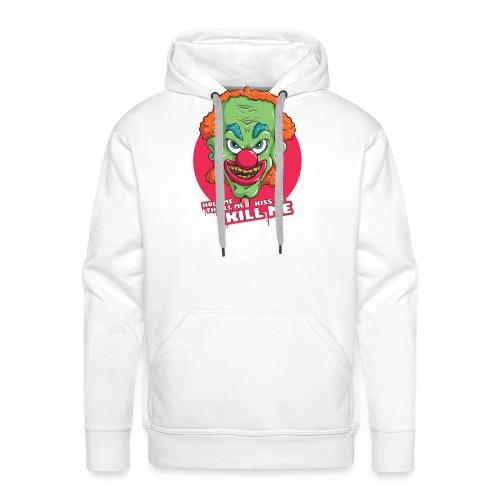 Clown - Bluza męska Premium z kapturem