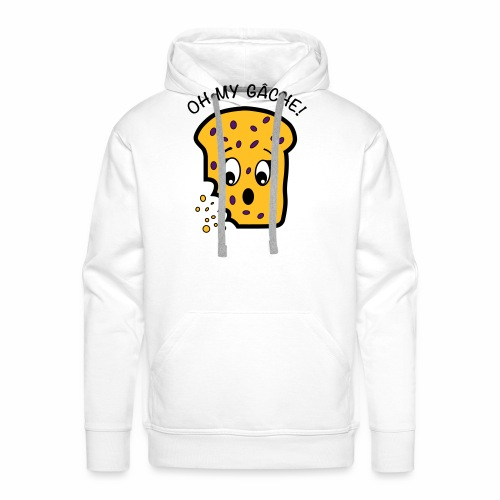 Oh My Gâche! Guernsey Mother's Day Design - Men's Premium Hoodie
