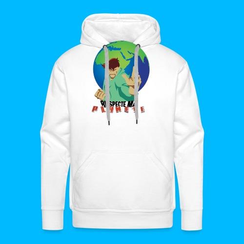 RESPECTE ma planète - Sweat-shirt à capuche Premium pour hommes
