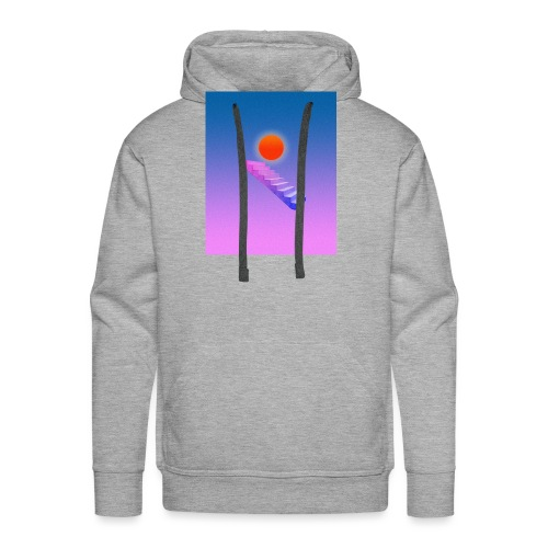 ESCALIER AU CIEL - Sweat-shirt à capuche Premium pour hommes