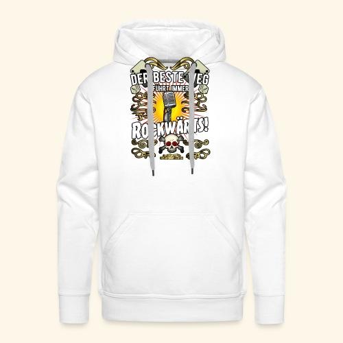 Rock Music Shirt ROCKWÄRTS - Männer Premium Hoodie