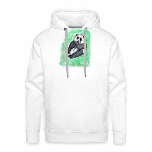 Scruffy panda - Men's Premium Hoodie