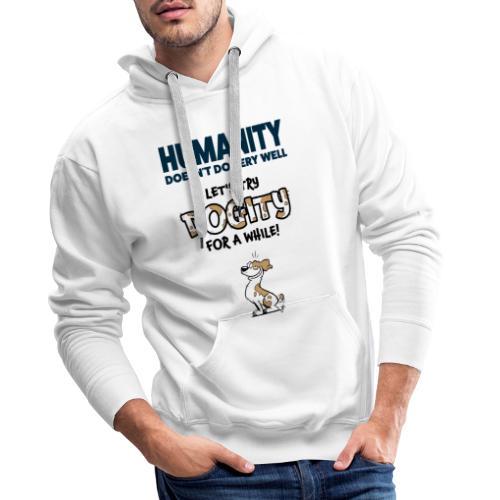 Dogity - Mannen Premium hoodie