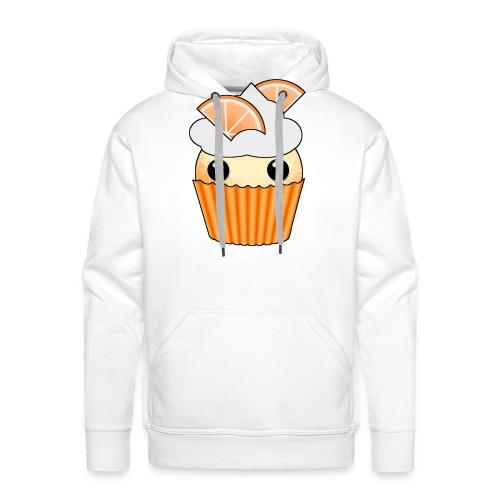 muffins apelsin orange med klyftor - Men's Premium Hoodie