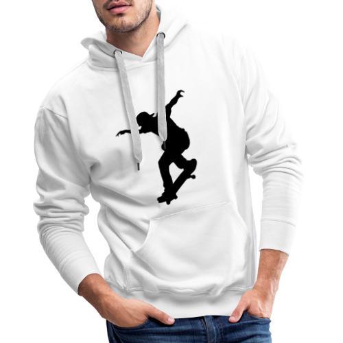 Skater - Felpa con cappuccio premium da uomo
