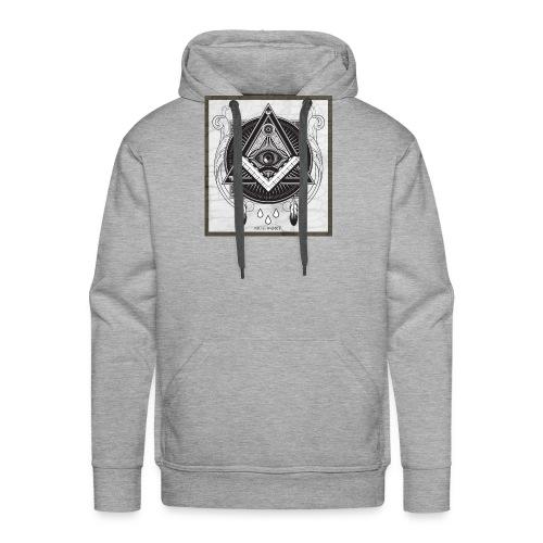 Illuminati - Sweat-shirt à capuche Premium pour hommes
