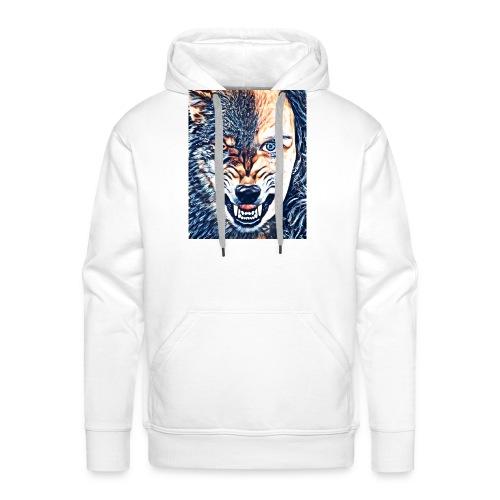 Wolfsrudel - Männer Premium Hoodie
