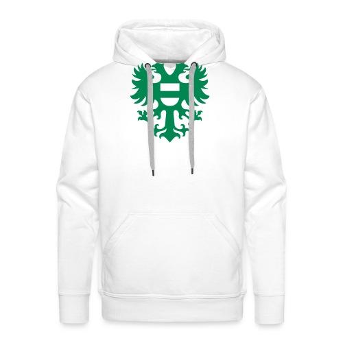 stadswapen groningen mono - Mannen Premium hoodie