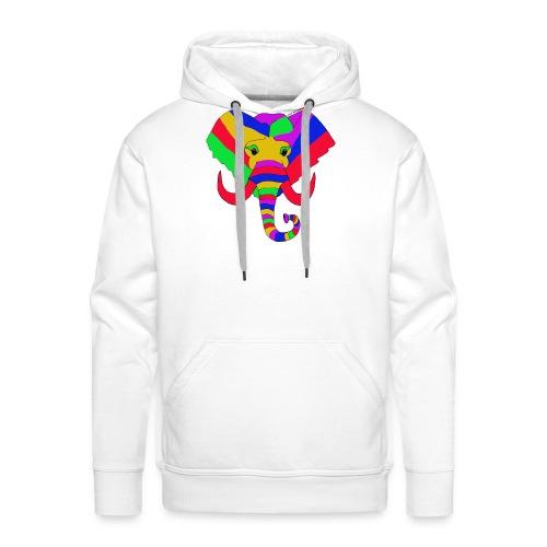 ELEPHANT LOVE AFRICA - Sweat-shirt à capuche Premium pour hommes