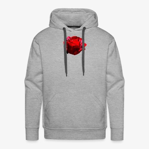 Red Rose - Männer Premium Hoodie