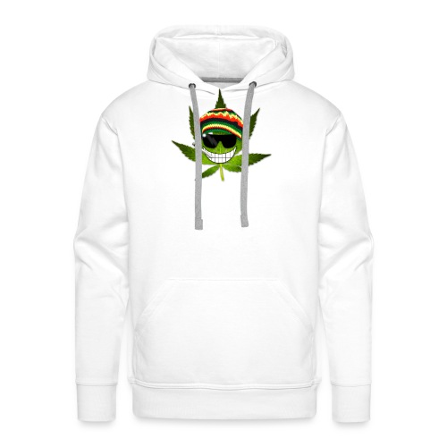 GermanWeedBoys Logo Buttons - Men's Premium Hoodie