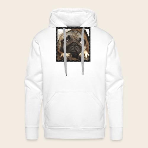 Mops Hund 1 - Männer Premium Hoodie